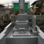 真壁中目墓石施工